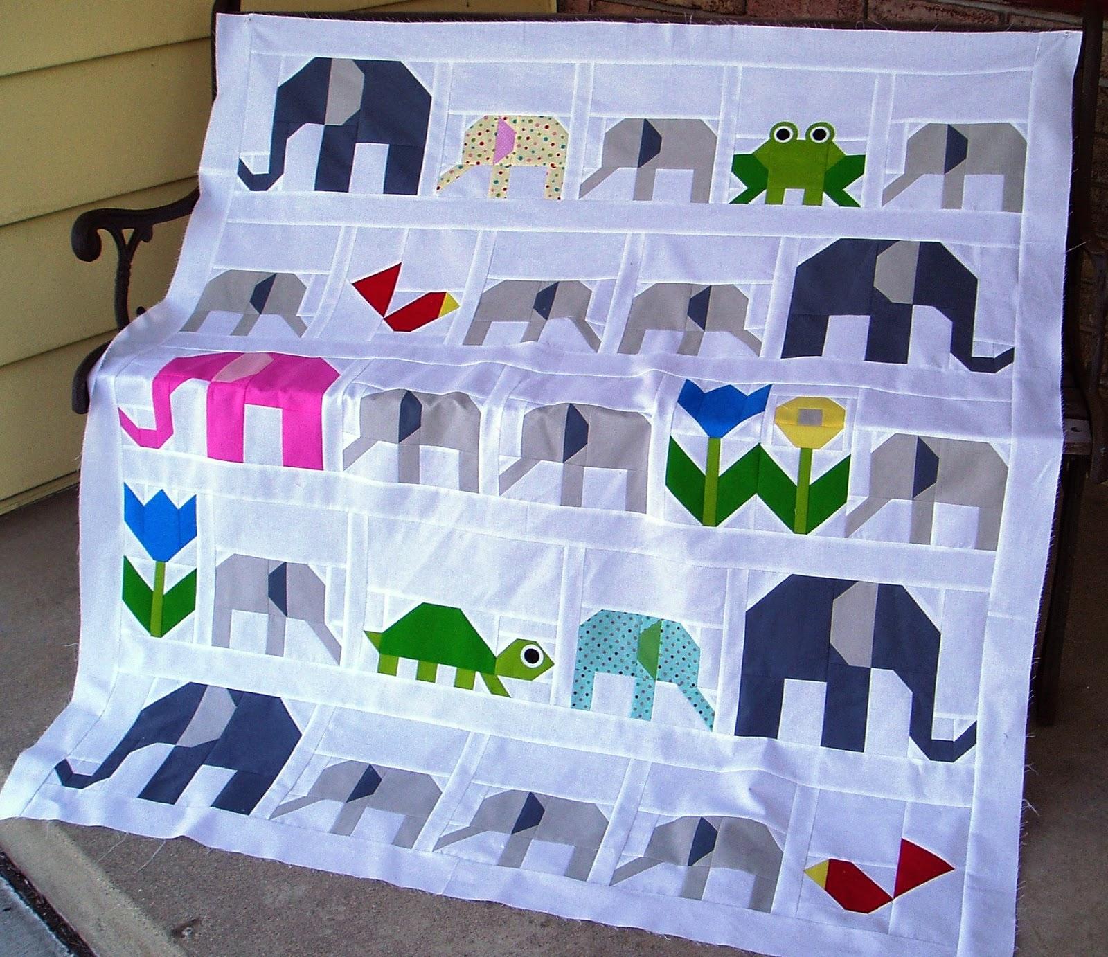 The Academic Quilter: Mutant elephants