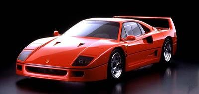 Ferrari%2BF40 Tipe Mobil Ferrari Terbaik Di Dunia