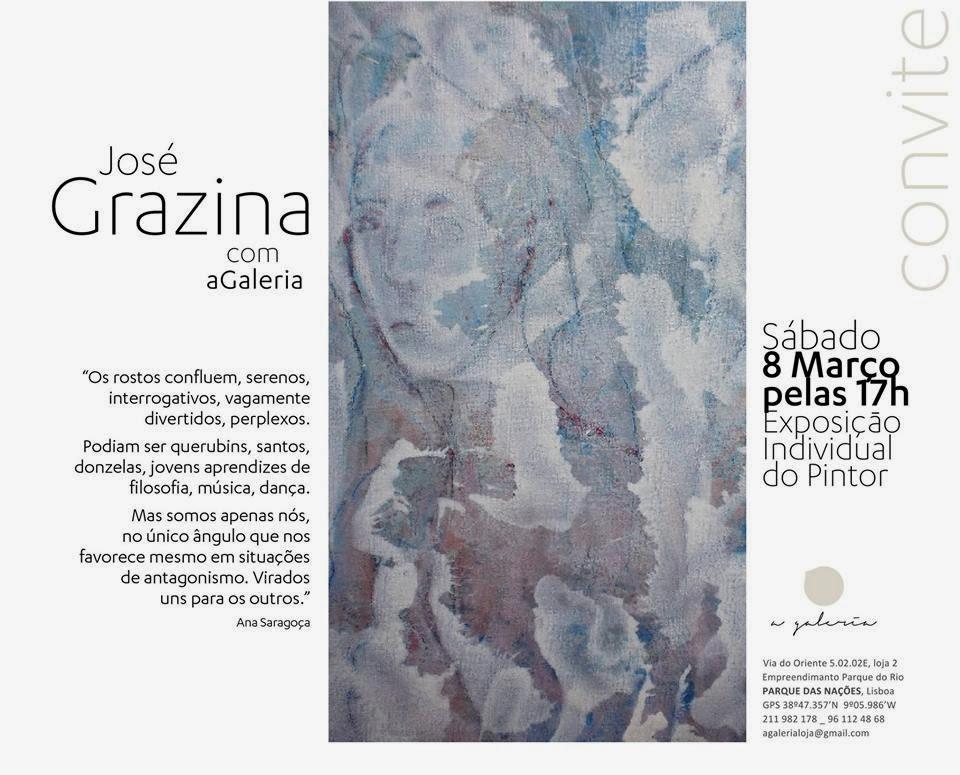 JOSÉ GRAZINA com aGaleria