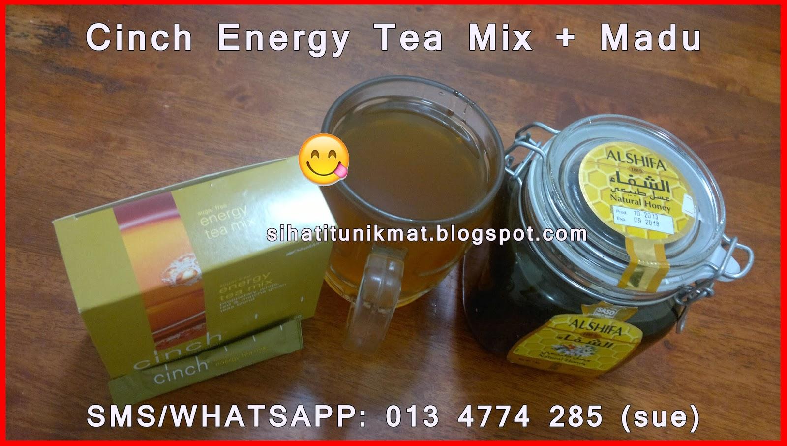 shaklee cinch energy tea mix