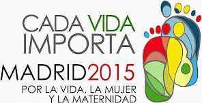 """""""Cada Vida Importa"""" Madrid 14 de Marzo de 2015"""