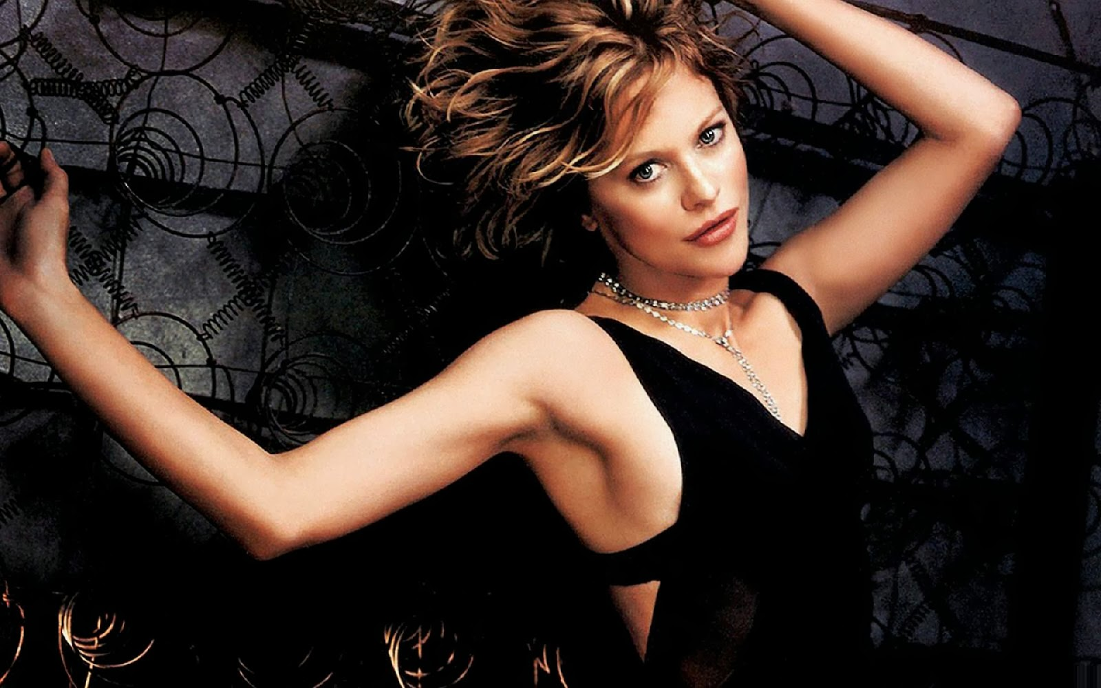 Meg Ryan in Black Bra