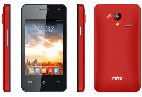 Mito Fantasy Lite A810 HP Android harga dibawah 1 juta