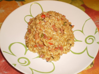 Risotto de bacon