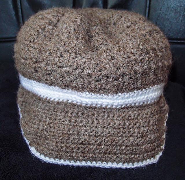 crocheted cap/hat