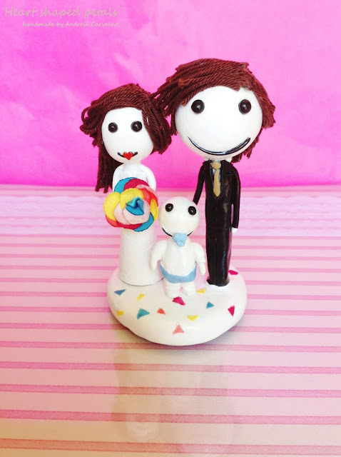 cake topper with baby