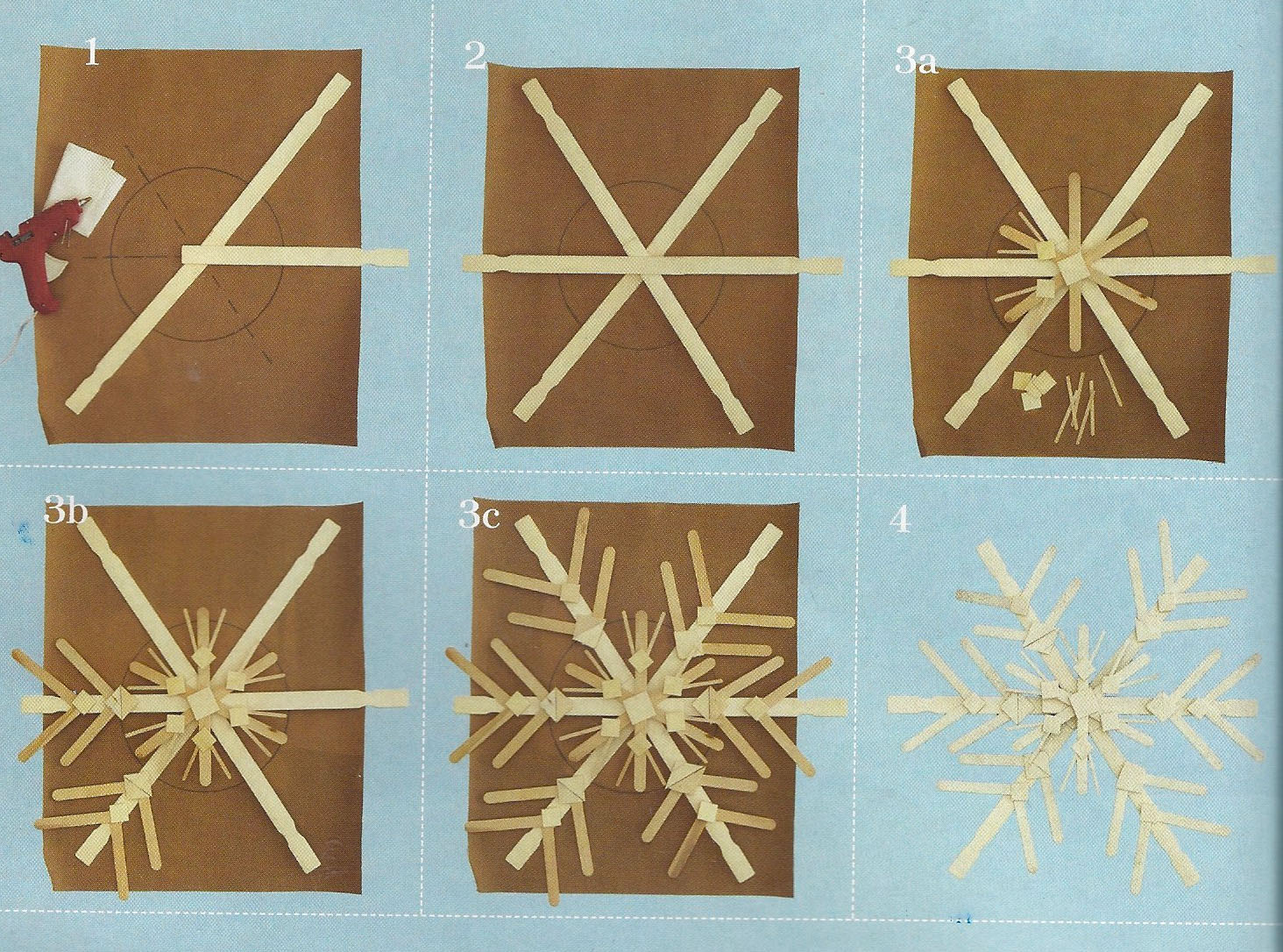 Karin lidbeck december 2011 for How to make paper christmas decorations at home