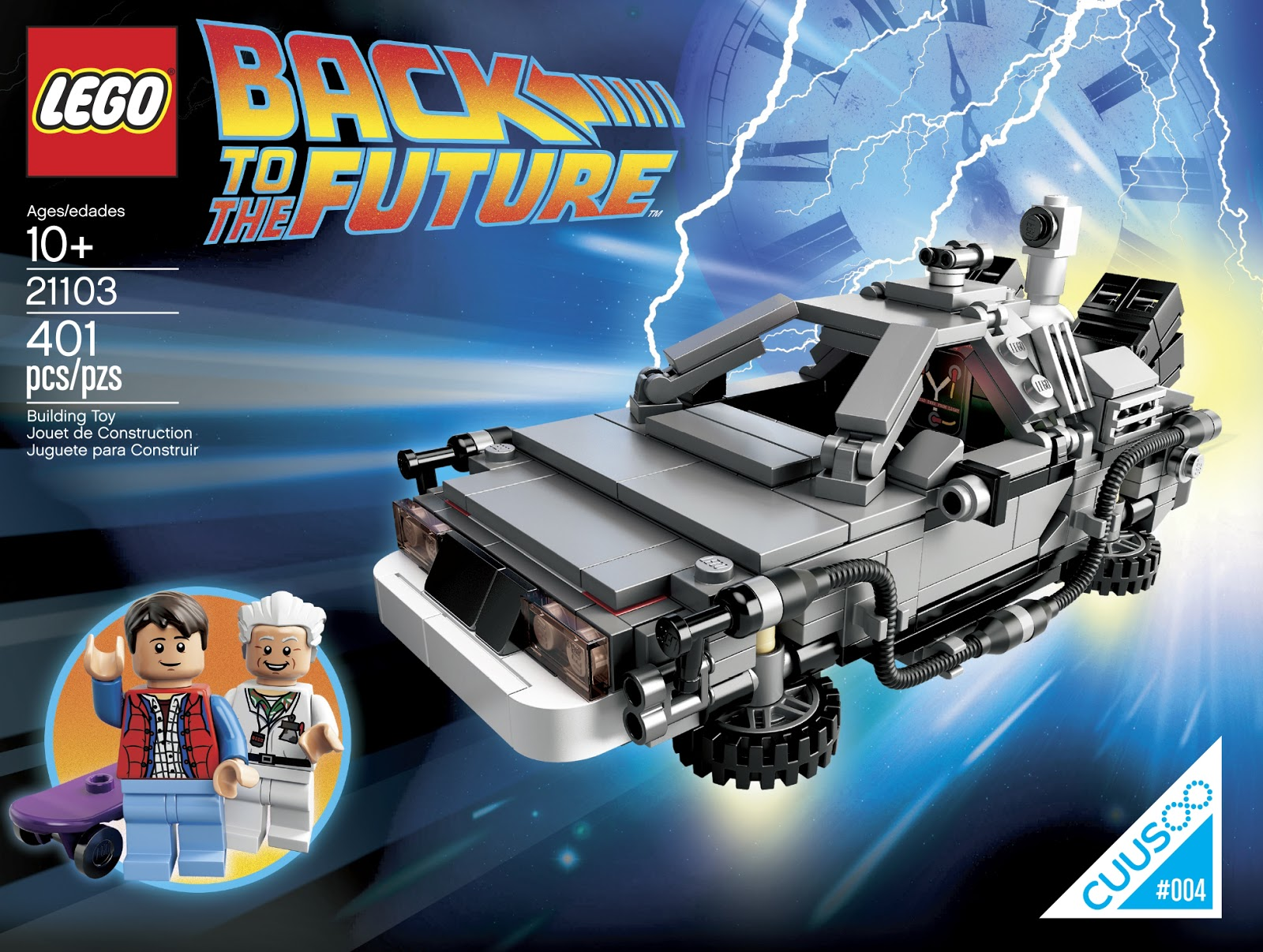 The Brickverse Official Images Of The Back To The Future