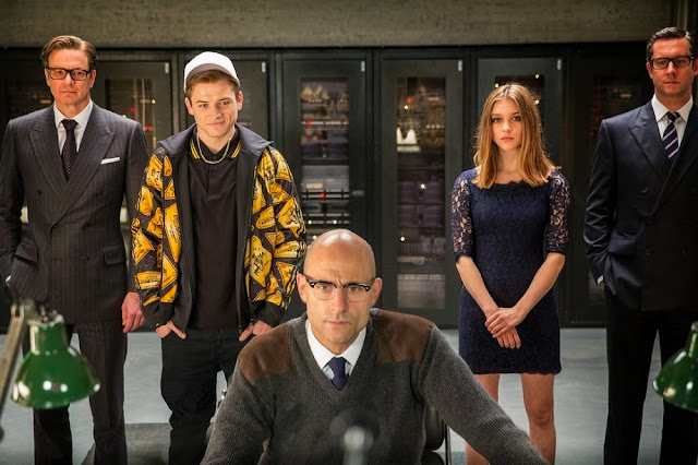 mark strong sophie cookson kingsman still
