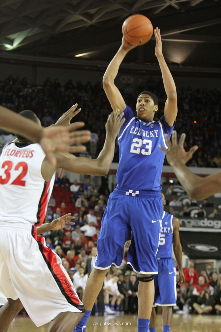 Anthony Davis - Kentucky Wildcat + NBA Basketball: Anthony ...