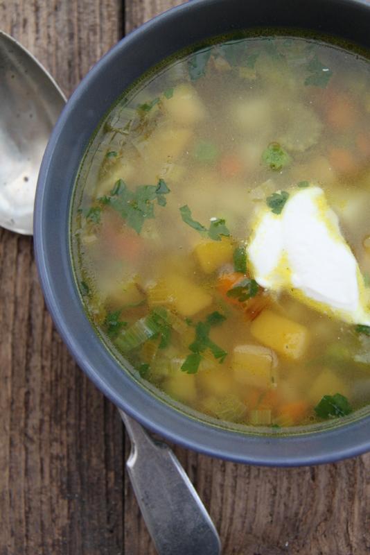 Zupa jarzynowa z dynią