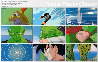"""Download Film / Anime Dragon Ball Kai Episode 73 """"Inilah Kekuatan Dari Manusia Super Namek! Android 17 Vs Piccolo"""" Bahasa Indonesia"""
