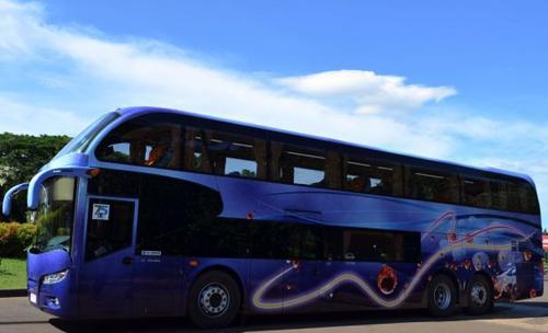 Bus Tingkat Miracle MAN buatan Kudus