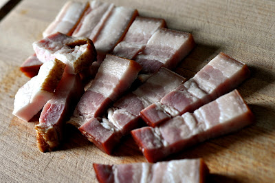 Pork Lardons - Photo by Michelle Judd of Taste As You Go