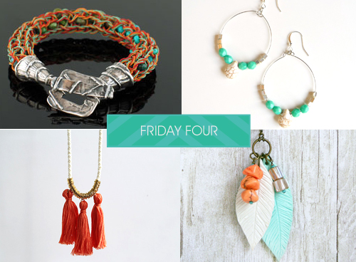 Softflexgirl friday four knitted cuff boho earrings ring and every friday i highlight some of my favorite do it yourself jewelry ideas found on pinterest for your weekend inspiration here are my picks the week solutioingenieria Choice Image