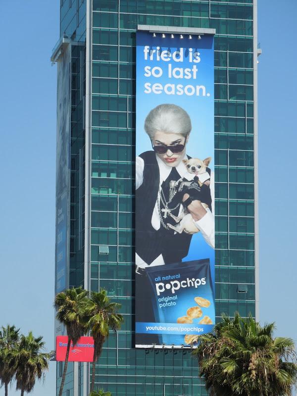 Ashton Kutcher Darl Popchips billboard