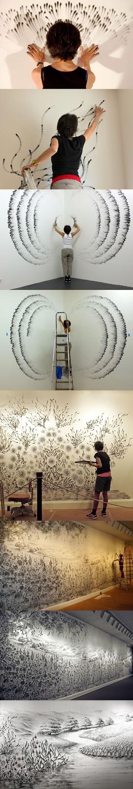 கைவிரல்களால் அற்புதமாக ஓவியங்கள் வரையும் ஓவியர் Finger-Painting-art+(6)