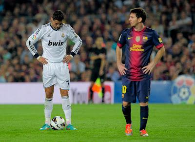Cristiano Ronaldo vs Lionel Messi 2013 Wallpapers HD