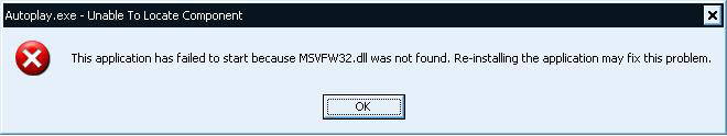 Download file msvfw32.dll ( Microsoft Video for Windows DLL )