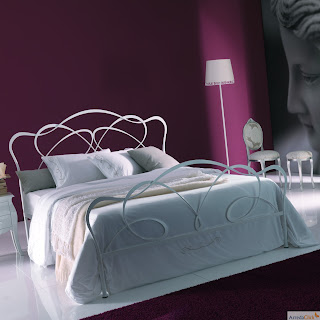 decorar dormitorio morado