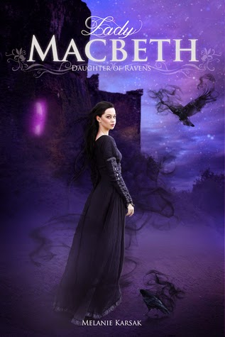 Q+A with Melanie Karsak author of paranormal Lady Macbeth Daughter of Ravens