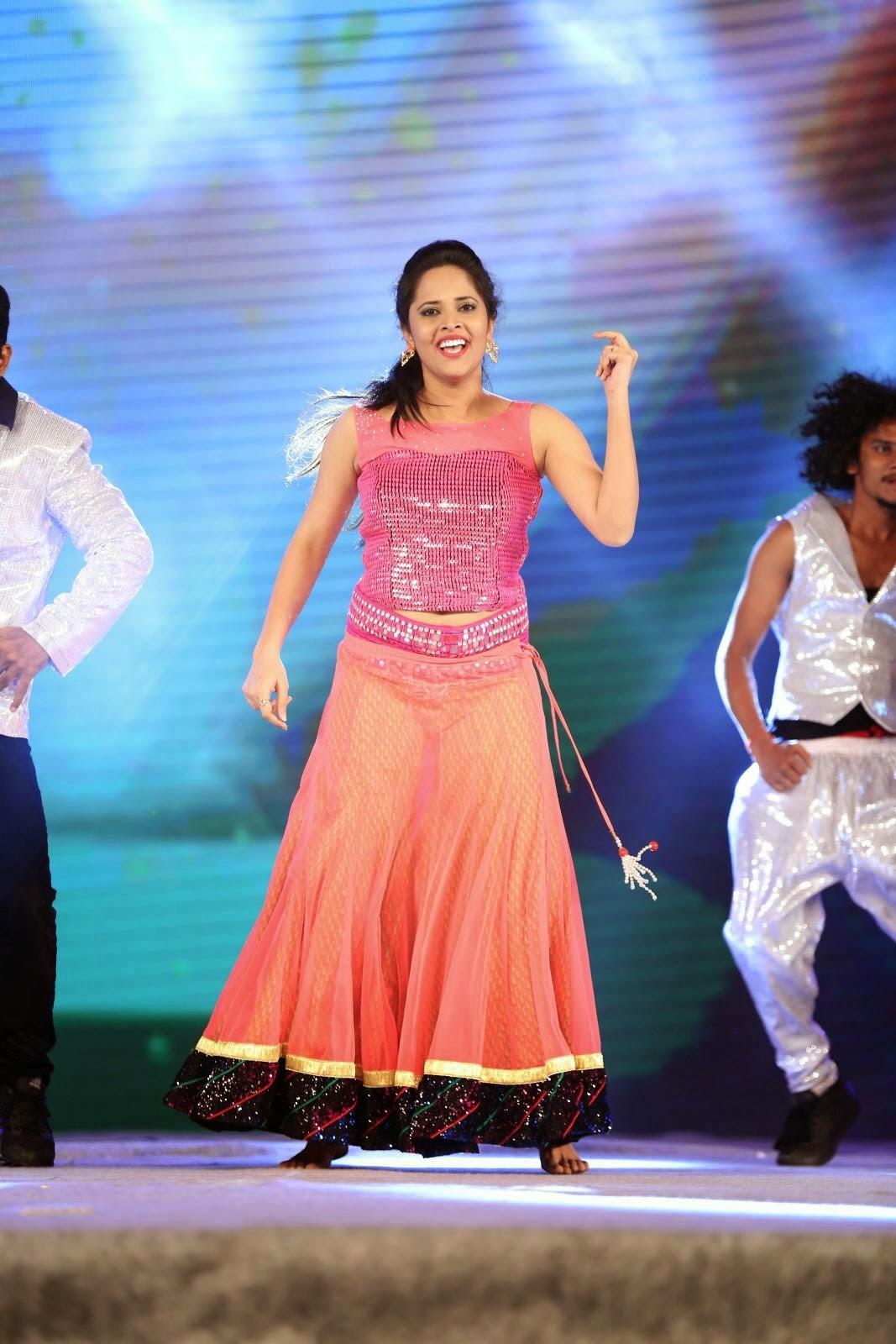Anasuya dancing - The Times of India