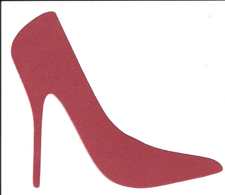 collector of hobbies free svg file high heel shoe