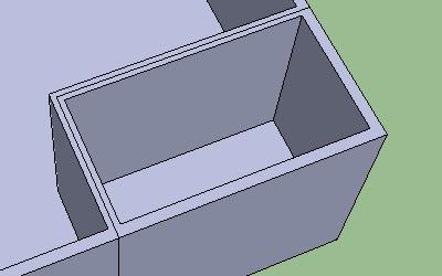Cara Membuat Lantai dan Dinding pada Google SketchUp-7