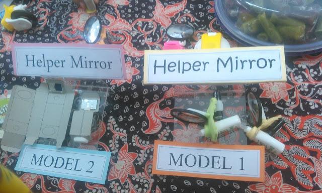 Dari NYIA LIPI 2015 : Helper Mirror (Alat Bantu Tetes Mata)