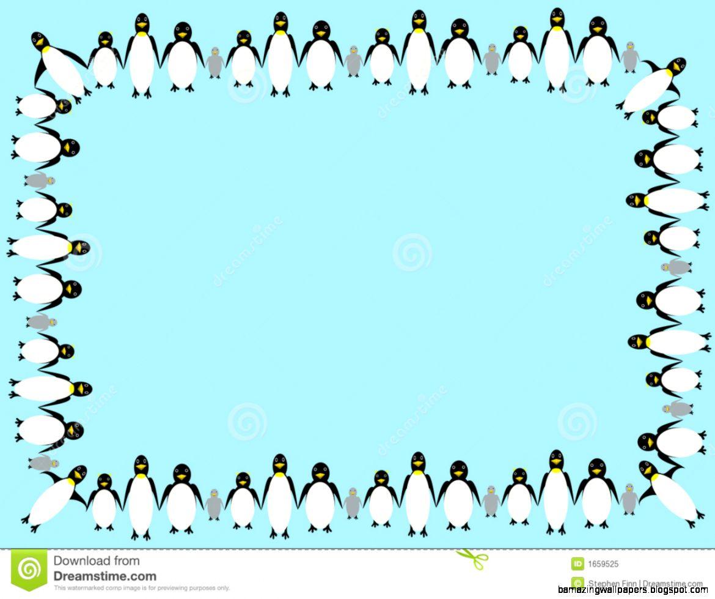 Penguin Border Clipart