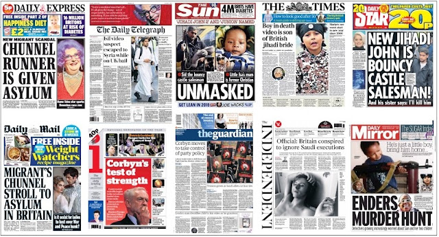 Jan 5 front pages
