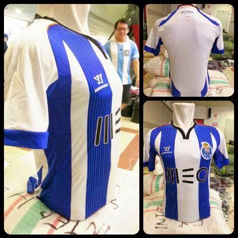 gambar jersey asli photo kostum Portoi home terbaru kualitas grade ori 2014/2015
