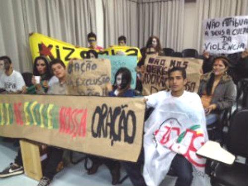 Estudantes de Apucarana