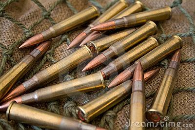 AK 47 Gun Bullets