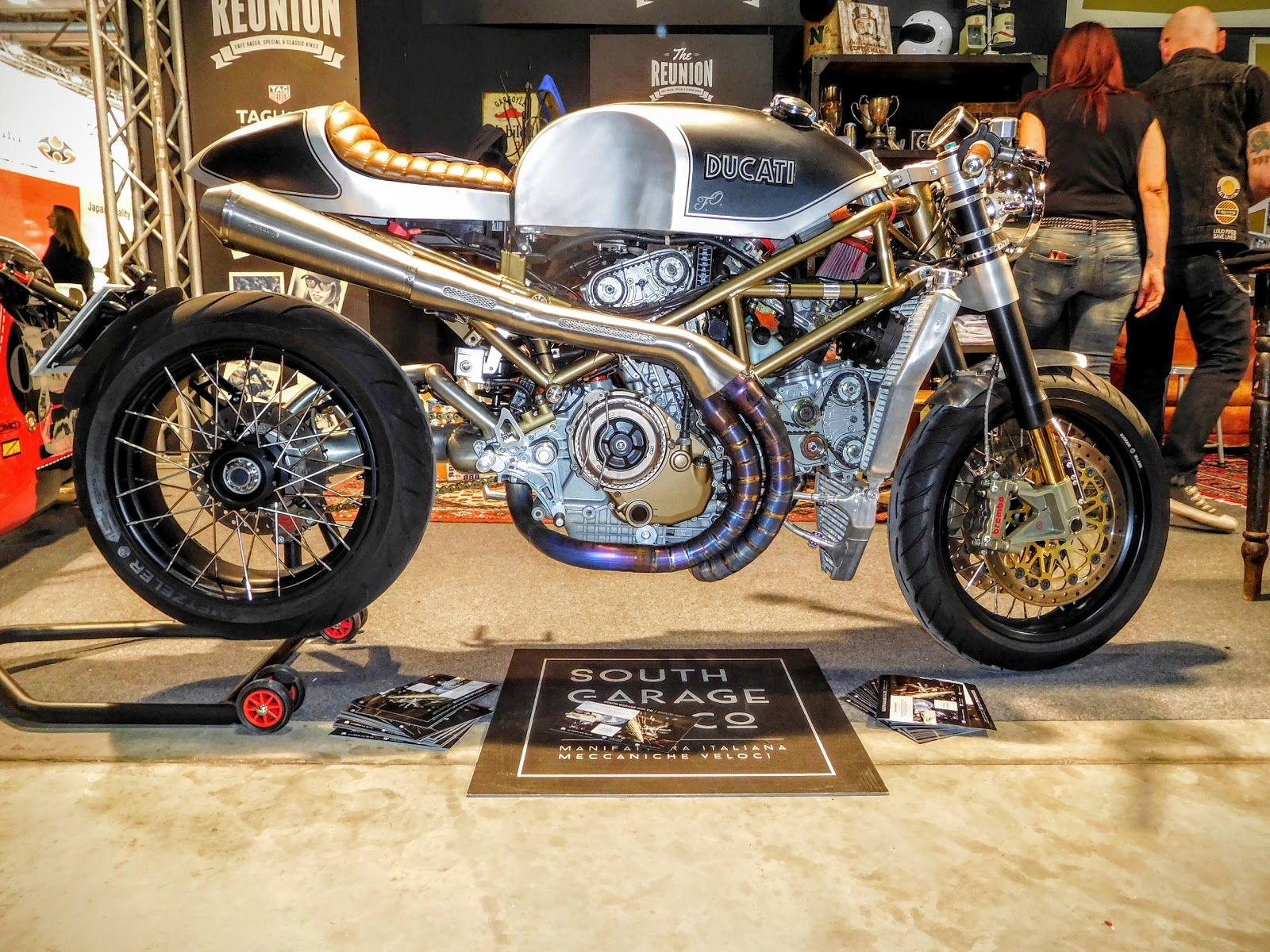 NYDucati: Custom Ducati Cafe Racer shot by Tigh Loughhead