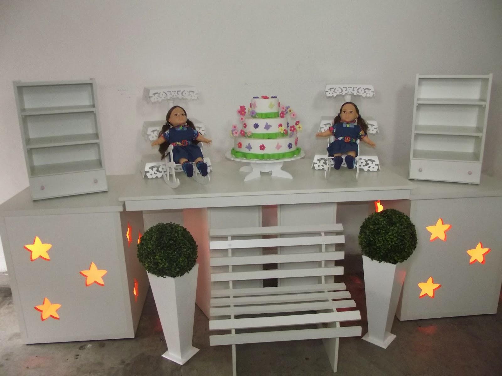 Decoração Provençal Festa infantil Quebra Galho Festas