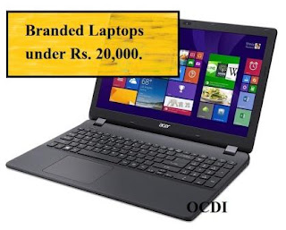 6 Laptops that comes under Rs. 20000