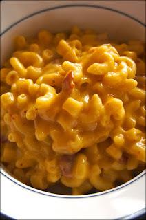 Bacon Chipotle Macaroni and Cheese: Savory Sweet and Satsifying