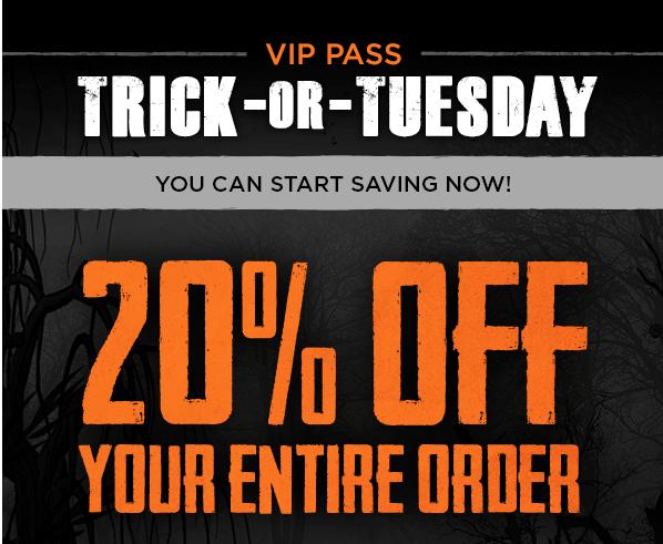 MyScaryBlog.com: Spirit Halloween 20% Off