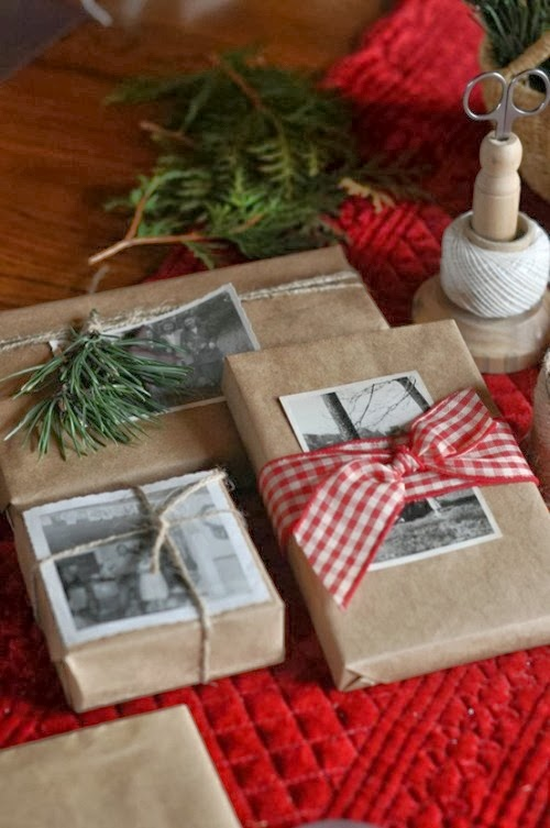 belle maison: Wrap in Style :: DIY Christmas Gift Wrapping ...