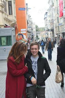 Ruskin in Istanbul, Istiklal Caddesi
