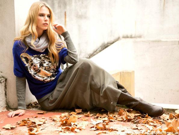 Otoño invierno 2013 coleccion Olga Naum