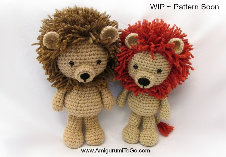 Amigurumi Lion Crochet Pattern : Lions and updates amigurumi to go
