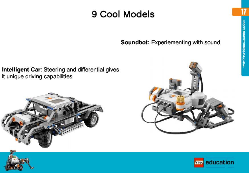 Robotics Education Centre New 9 Building Lego Resource Set
