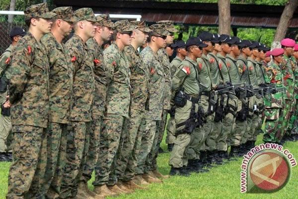 Marinir Indonesia-AS latihan perang kota di Banyuwangi