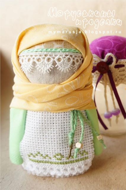 народная кукла зерновушка