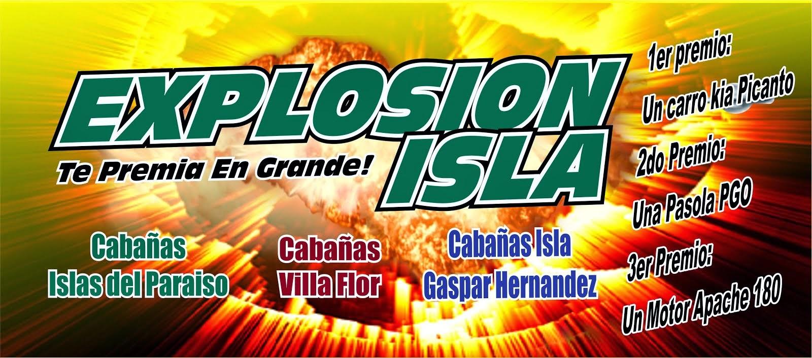 Explosión Isla
