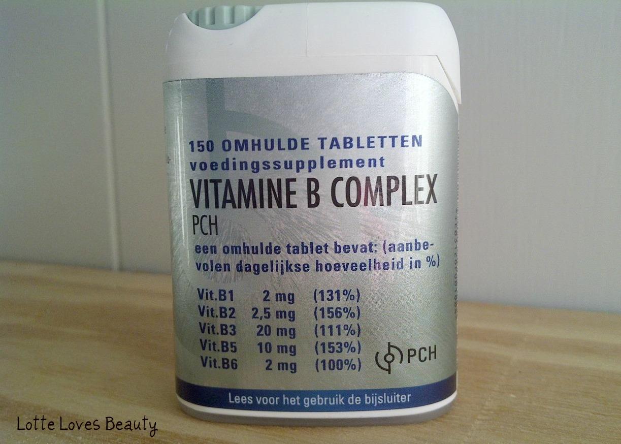 vitamine tegen haaruitval
