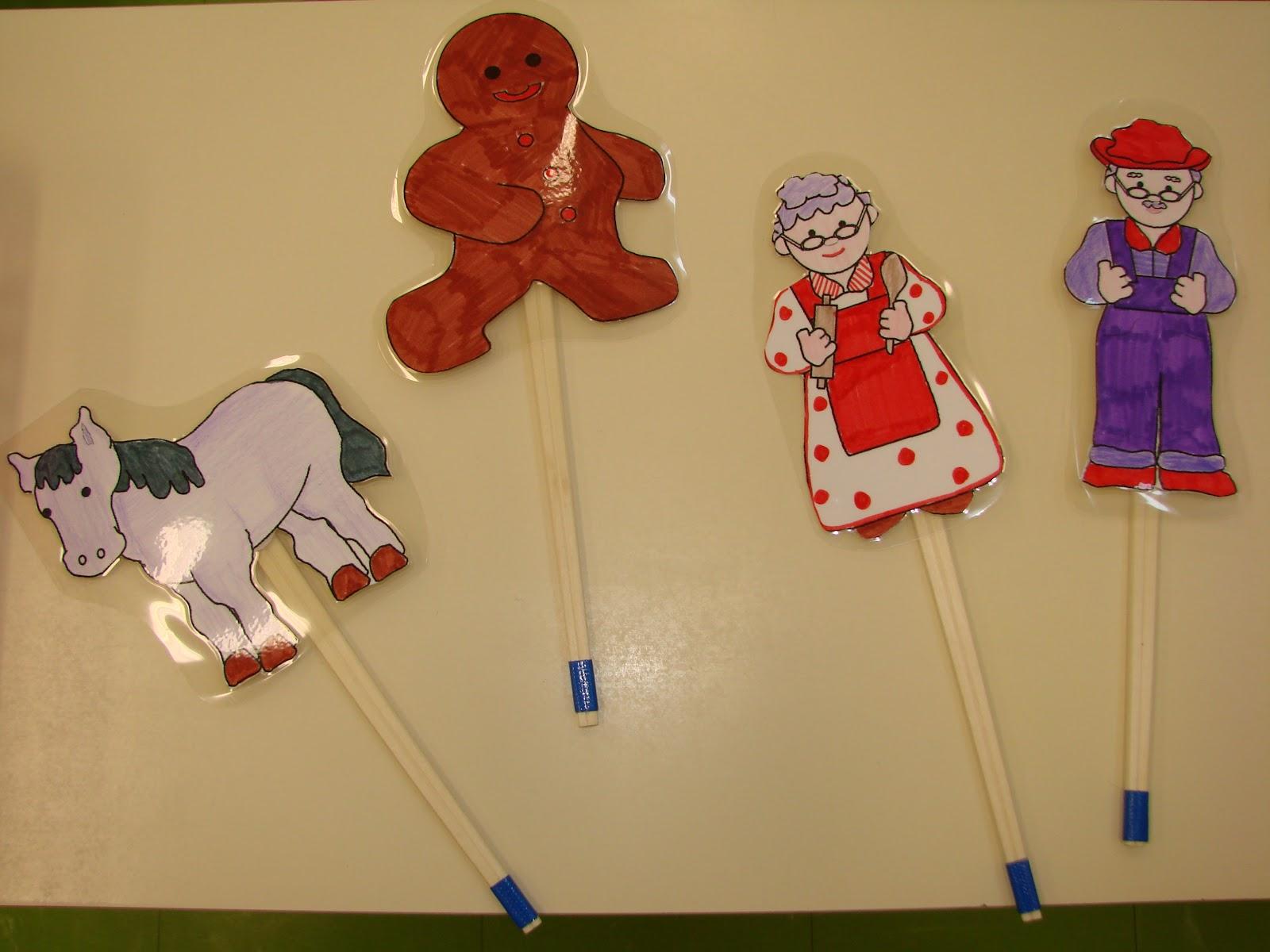 La Classe De Mademoiselle Violette Marionnettes Bonhomme De Pain D