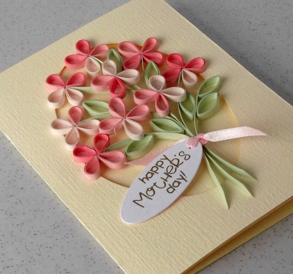 beautifull quilling card